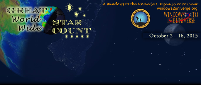 Great World Wide Star Count header