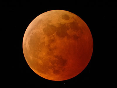 "Lunar eclipses are special events that only occur when certain conditions are met. First of all, the Moon must be in <a href=""/the_universe/uts/moon3.html&edu=elem&dev="">full phase</a>. Secondly, the <a href=""/sun/sun.html&edu=elem&dev="">Sun</a>, <a href=""/earth/earth.html&edu=elem&dev="">Earth</a> and <a href=""/earth/moons_and_rings.html&edu=elem&dev="">Moon</a> must be in a perfectly straight line. If both of these are met, then the Earth's shadow can block the Sun's light from hitting the Moon.  The reddish glow of the Moon is caused by light from the Earth's limb scattering toward the Moon, which is reflected back to us from the Moon's surface.<p><small><em>Image credit - Doug Murray, Palm Beach Gardens, Florida</em></small></p>"