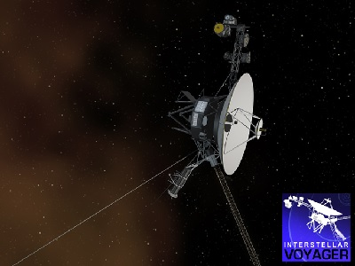 "According to <a href=""http://www.jpl.nasa.gov/news/news.php?release=2013-277"">NASA scientists</a>, the Voyager 1 spacecraft entered interstellar space in August 2012, becoming the first spacecraft to leave the <a href=""/our_solar_system/solar_system.html"">solar system</a>. The space probe is about 19 billion km from the <a href=""/sun/sun.html"">Sun</a>.  <a href=""/space_missions/voyager.html"">Voyager 1 and 2</a> were launched in 1977 on a <a href=""/space_missions/voyager.html"">mission</a> that flew them both by <a href=""/jupiter/jupiter.html"">Jupiter</a> and <a href=""/saturn/saturn.html"">Saturn</a>, with Voyager 2 continuing to <a href=""/uranus/uranus.html"">Uranus</a> and <a href=""/neptune/neptune.html"">Neptune</a>. Voyager 2 is the longest continuously operated spacecraft. It is about 15 billion km away from the <a href=""/sun/sun.html"">Sun</a>.<p><small><em>Image courtesy of NASA</em></small></p>"