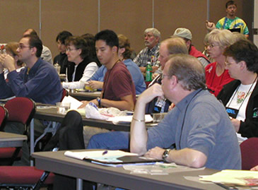Our staff conducts numerous workshops and presentations at conferences and 